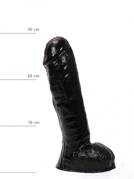 X-Man Extra Grosser Dildo 30x18cm Klassische Form Schwarz