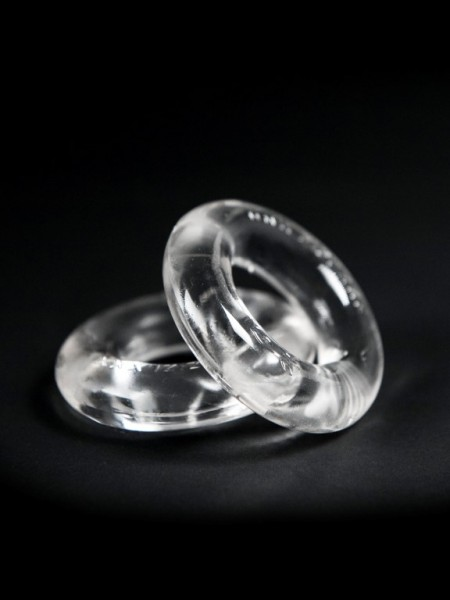 "ZIZI Cockring ""Top"" (2er Pack) clear/Kristall"