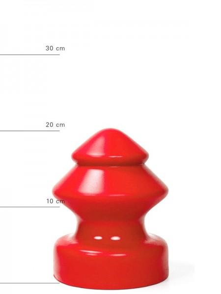 X-Man Extra Grosser Anal Dildo(Anal Plug) 23x13,5cm Rot