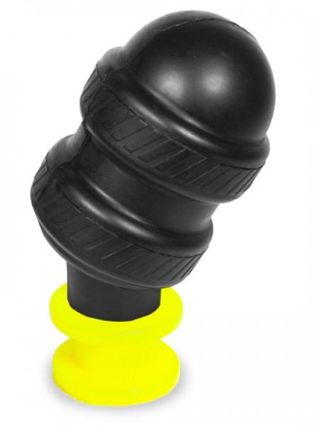 Hoolalass Big Lever Plug 16x7,0 cm schwarz/Neon Gelb