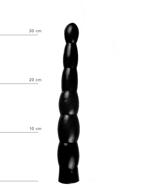 X-Man Anal Dildo(Analkette) 32x4,5cm Schwarz