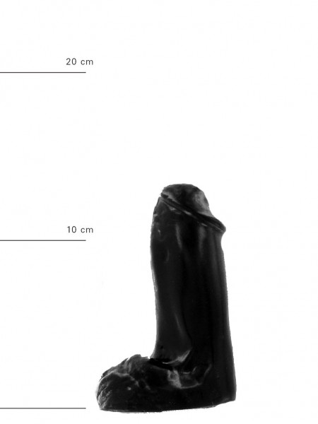 X-Man Dildo 13x4,5cm Klassische Form Schwarz