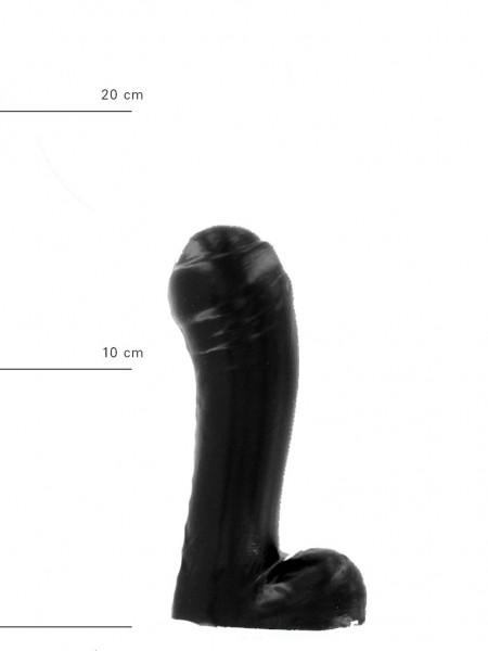 X-Man Dildo 15x4,5cm Klassische Form Schwarz