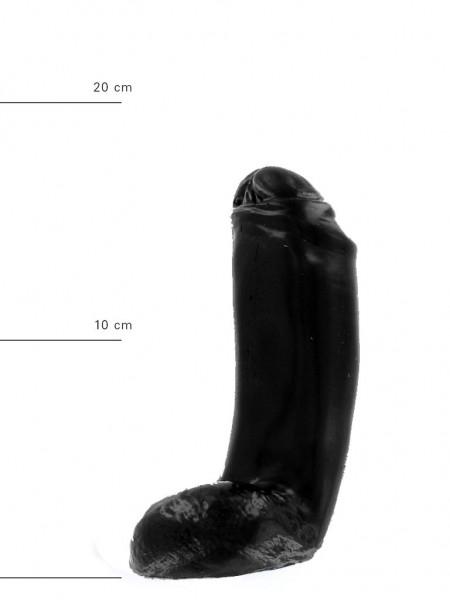 X-Man Dildo 18x5,5cm Klassische Form Schwarz