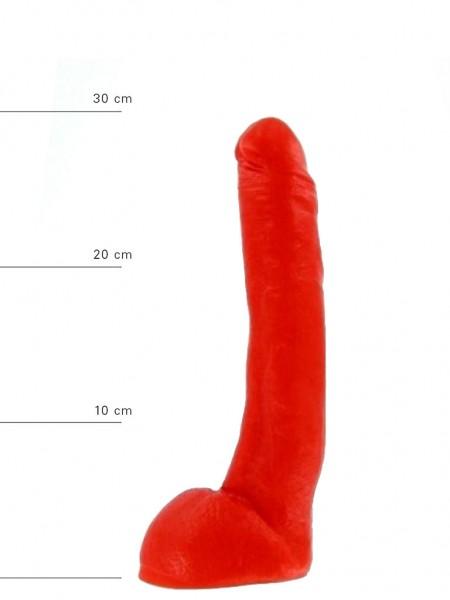 X-Man Dildo 29x5cm Klassische Form Rot