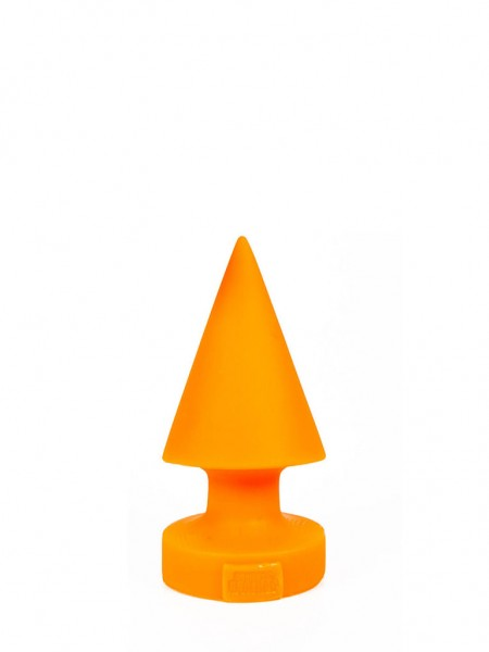 Crack Attack Anal Dildo(Anal Plug) 18x8cm Orange