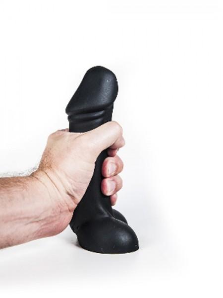 Silikon Dildo Axel 18,5x4,2-5,5cm schwarz