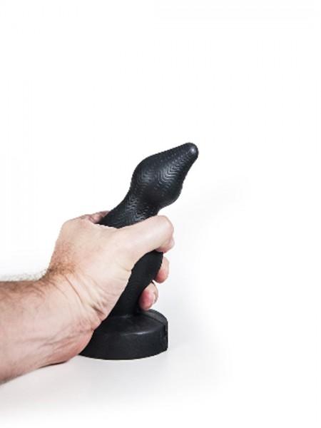 Silikon Anal Plug Falun 18x3,9-6,1cm schwarz