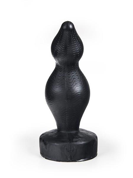Silikon Anal Plug Stor Falun 23x5,1-7,6cm schwarz