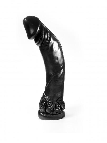Dark Crystal Riesen Dildo 35x7cm schwarz