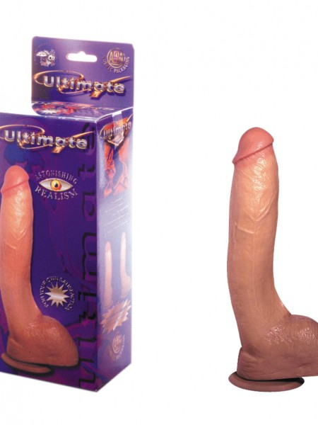 Realistischer Dildo The Ultimate 2 25x4,5cm Hautfarben