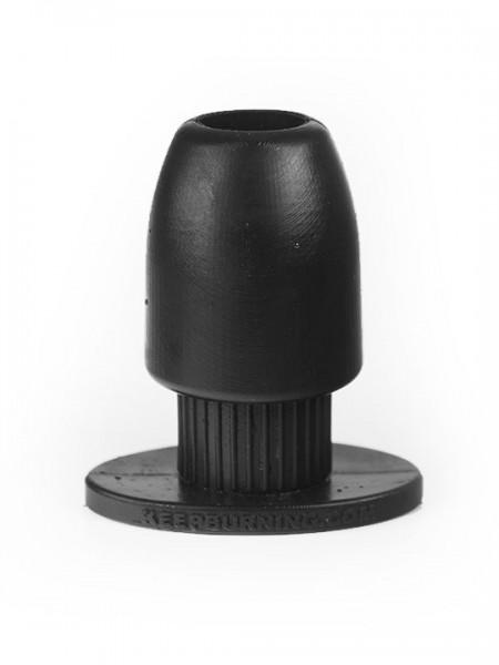 Anal Tunnel Gearing Medium 11,5 x 3,1cm (innen) 5,8cm (aussen) schwarz