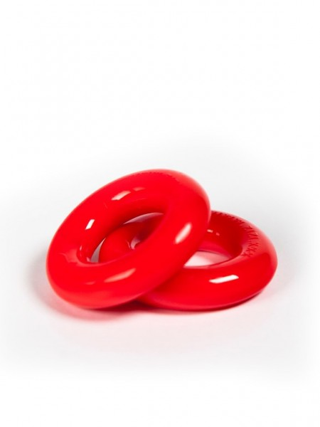 "ZIZI Cockring ""Top"" (2er Pack) rot"