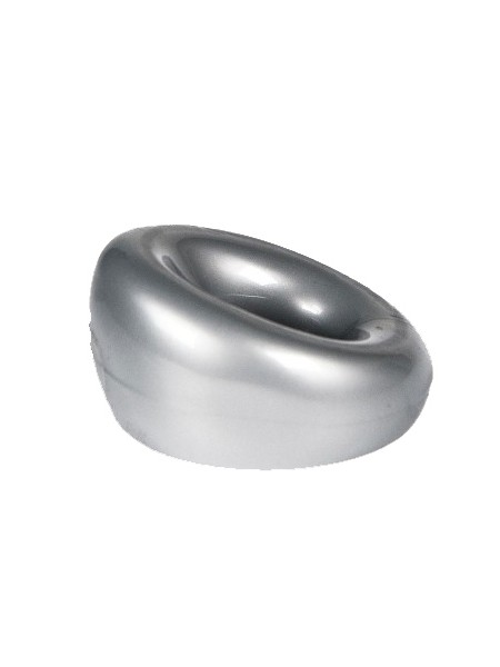 "ZIZI Cock & Ball Ring  ""Powerstroke"" silber"