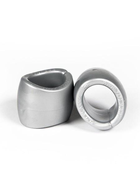 """ZIZI Cock & Ball Ring """"Plasma"""" (2er Pack) silber"""