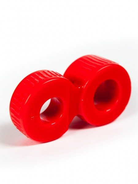 "ZIZI Doppel Cock Ring ""Trainer"" rot"