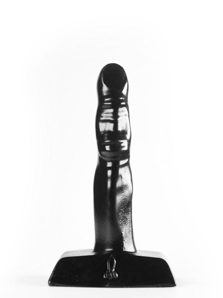 Anal Plug One Finger Schwarz 12x2,2cm