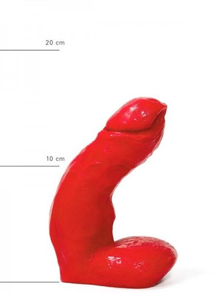 X-Man Dildo 15x4cm Klassische Form Rot