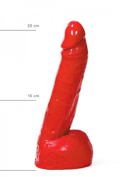X-Man Dildo 22x5cm Klassische Form Rot
