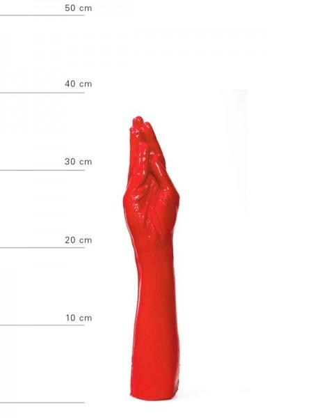 X-Man Fisting Dildo 37x7cm Rot