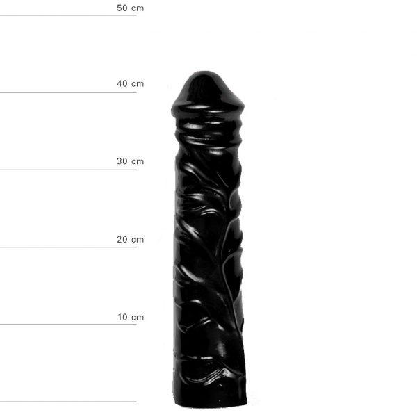 X-Man Anal Dildo 31x6,5cm Schwarz