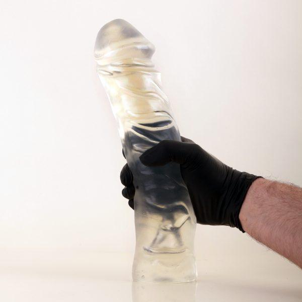 """X-Man """"Justin"""" Dildo Crystal Clear 32x6,4-7,2cm (Eichel 7,2cm)"""