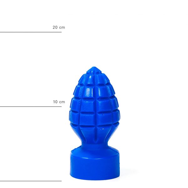 X-Man Anal Dildo(Anal Plug) 15x6cm Blau