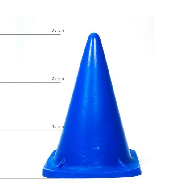 X-Man Extra Grosser Anal Dildo(Anal Plug) 30x18cm Blau