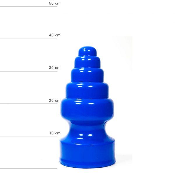 X-Man Extra Grosser Anal Dildo(Anal Plug) 27x13x5cm Blau