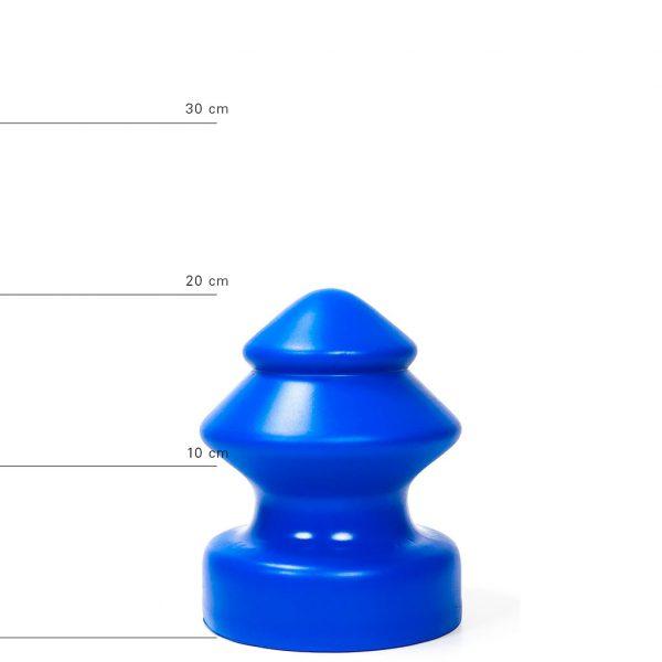 X-Man Anal Dildo(Anal Plug) 19x14,5cm Blau
