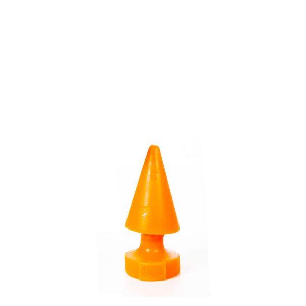 Crack Attack Mini Anal Dildo(Anal Plug) 15x6cm Orange