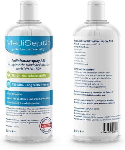MediSeptic Antiinfektionsspray A 50 (500ml)