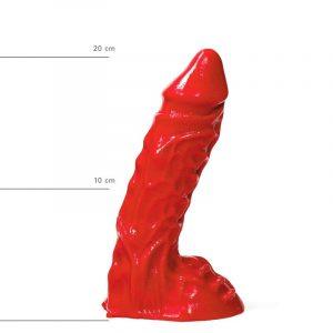 X-Man Dildo 23x5,5cm Klassische Form Rot